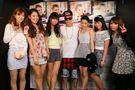 Justin meeting fans at V2 TOKYO April 2014