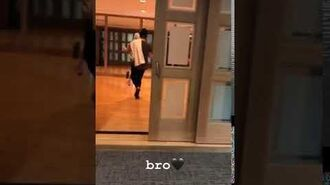 Justin Bieber dancing to his new song