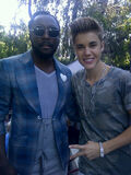 Justin Bieber with Will.i.am 2012