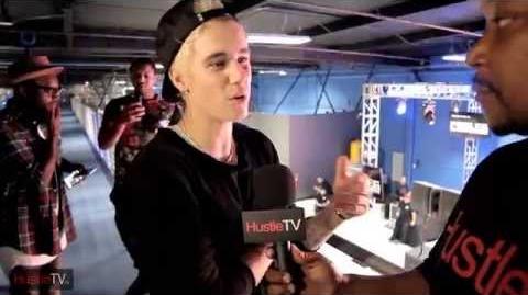 HustleTV DJ Hustle Talks To Justin Bieber & Ryan Friedlinghaus West Coast Customs Grand Opening