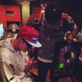 Justin Bieber in the studio with Soundz 2014