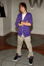 Justin at Nintendo World Store in New York City
