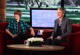 Justin Bieber on Ellen November 2009
