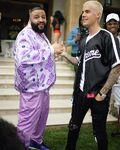 DJ Khaled & Justin Bieber handshake