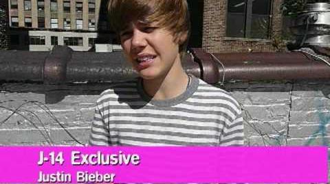 J-14 Video Exclusive Justin Bieber's Celeb Dream Date