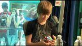 Justin Bieber Playing Rubik's Cube on Radio Disney