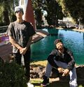 Justin Bieber with Alfredo Flores December 2016