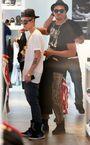 Justin Bieber with Bei Maejor December 2012