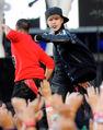 Justin Bieber singing at VMA's 2010