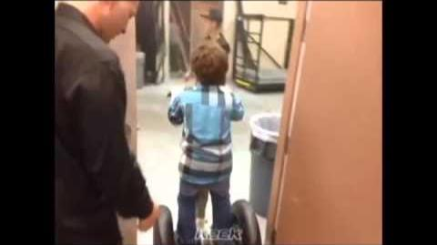 Segway Driving Lessons Part One (Keenan Cahill and Justin Bieber)