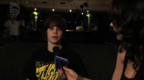 One of Justin Bieber's First Interviews