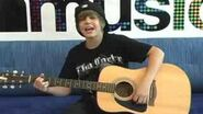 Justin Bieber LIVE at MySpace Music 06 09 09 02 28PM