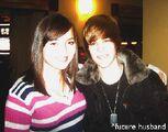 Fan meets Justin Bieber December 2009