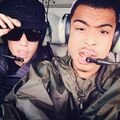 Justin Bieber and Khalil in 2013