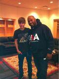 Justin Bieber and Bun B