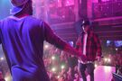 Justin Bieber dancing with Maejor