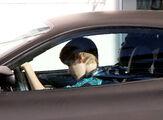 Justin drives a Ferrari F430 Miami, 2010
