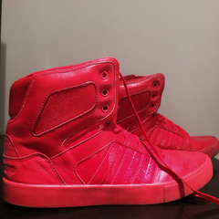 Autographed red Adidas NEO Label worn on the Believe tour<br />You could win this by sharing your <a rel=