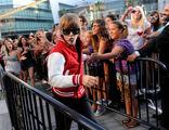 Justin Bieber performing at VMA's 2010