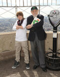 Justin Lights Empire State Building For Jumpstart