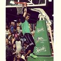 Justin Bieber BET celeb basketball game