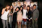 Justin meeting fans at V2 TOKYO