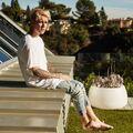 Blonde Justin Bieber photo shoot 2014