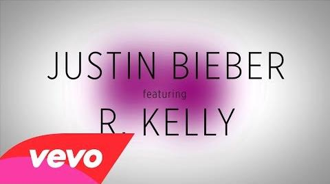 Justin Bieber - PYD (Lyric Video) ft. R