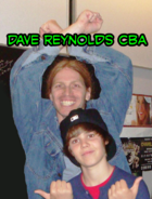 Dave Reynolds and Justin Bieber 2009
