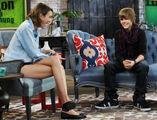 Justin Bieber with Alexa Chung