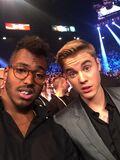 Justin Bieber and DJ Ruckus