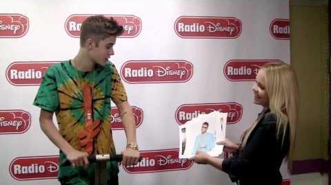 Alli Simpson - Interview with Justin Bieber (Radio Disney)