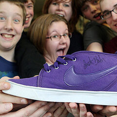 Donated shoe