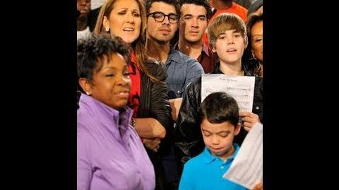 Behind the Scenes with Justin Bieber, Will.I.am, Miley, Celine, Ethan Bortnick and others