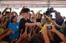 Justin Bieber in Tacloban City