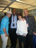 Jeremy, Kenny, Justin and Ronnie at the Juno Awards