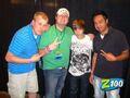 Z100 Portland with Justin Bieber 2010