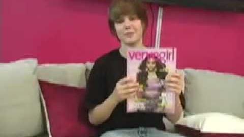 Justin Bieber outtakes at Vervegirl!