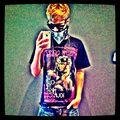 Justin Bieber mirror pic July 2011