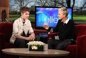 Justin Bieber on Ellen 2011