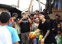 Justin Bieber playing basketball December 2013