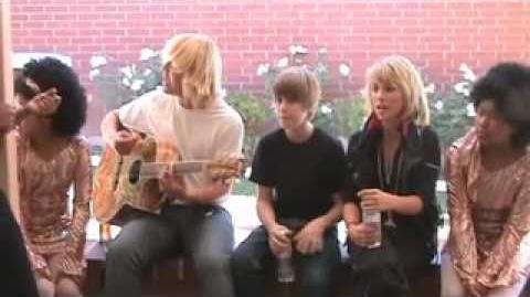 "Justin Bieber, Mathias Anderle, School Gyrls Movie behind the scenes ""LOST FOOTAGE"""
