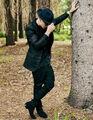 Justin Bieber suit photoshoot by Nick Onken