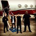 Justin Bieber on a jet July 2013