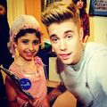 Justin Bieber with Grace