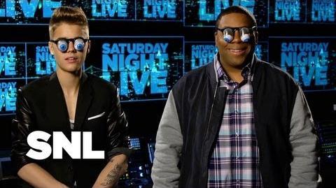 Facebook Promo- Justin Bieber - Saturday Night Live