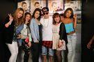 Justin Bieber meeting fans in Tokyo April 2014