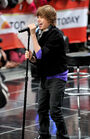 Justin Bieber Performs on 'The Today Show' 12 October 2009