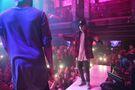 Justin dancing at LIV December 2015