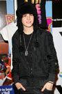 Justin meets fans at Citadium Store in Paris